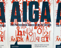 Screen Printing: AIGA Recruitment