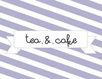 Tea & Cake // Brand identity & Web Design