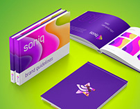 Soniq Project logo system and brand guidelines