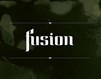 FUSION typeface / 2012