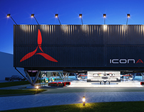 ICON AIRCRAFT Showroom & Flight Training Center
