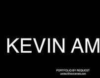 Kevin Amato Splash Page