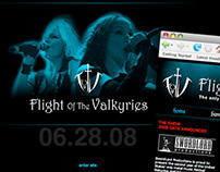 Flight of The Valkyries Festival Branding