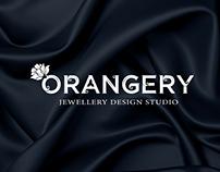 Logo for Orangery, jewellery design studio
