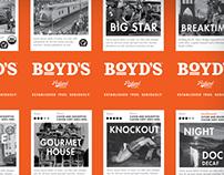 BOYD'S COFFEE: Branding + Packaging