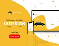 Trust Cab- UI DESIGN