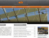 Sitio Web HTML asesorías y proyectos ALR