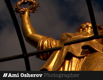 Website for Ami Osherov, Photographer