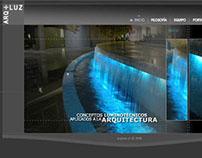 Sitio Web HTML ARQ+LUZ