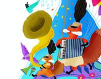 插畫|SASSI BABY x 美可特設計 - 童趣插畫