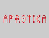 APROTICA typography