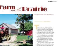 Detours Magazine Spreads: Mahaffie Stagecoach Stop