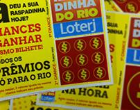 "Bilhete Lotérico ""Já deu a sua Raspadinha hoje?"""
