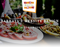 Baratta's Catering Website