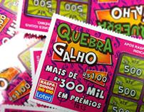 "Bilhete Lotérico ""Quebra Galho"""