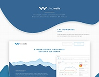 CheckWatts Homepage & Platform