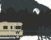The Walking Dead Print
