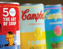 Campbell's Soup + Warhol
