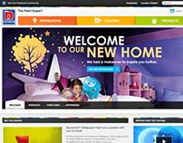 Nippon Paint Malaysia - Web Revamp (2012)