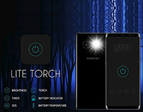 App Design | LITE TORCH | Genius Circle