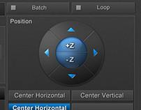 3D Subtitling software interface - low fatigue design