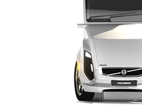 Volvo Columbus (Auto Design MDes final project 2010)