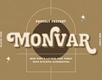 Monvar - Cooper Layered Fonts