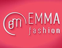 Modern minimalistic logo for fashion butique