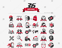 web icon set | download now with royalty free usage
