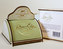 River's Edge Cheese Packaging Design