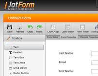 JotForm - easy to use online form builder
