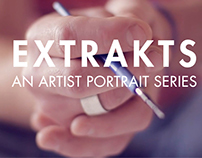 video portrait series of artists