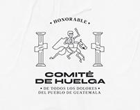 Honorable Comité de Huelga de todos los dolores USAC