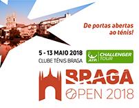 Braga Open | Criação de imagem do torneio