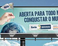 Barão Idiomas - Campanha