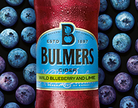 Bulmers Wild Blueberry and Lime