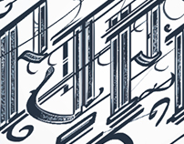 P.J.P.P. Monogram - Calligraphy