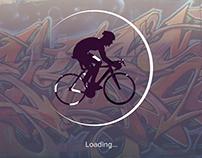 STUNTR extreme sport web application