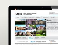 CNRD.info - web design