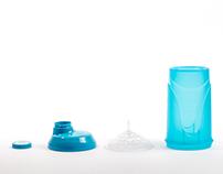 BioTechUSA sport water bottle and shaker