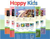 Happy Kids - Children WordPress and HTML Template