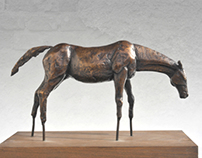 Bronze statue of horse - limited edition