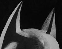 The Dark Knight Pencil Drawing