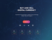 Web Design - Cryptocurrency Page