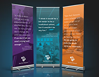 Inspirational Pop-up Banners