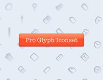 Pro Glyph Iconset