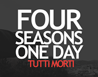 Four Seasons One Day 'Tutti Morti' EP + Logo
