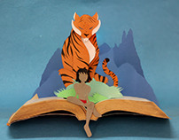 Jungle Book - Paper Art
