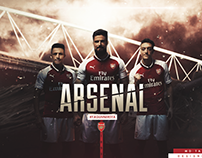 """Arsenal-The Gunners"" - Wallpaper ft. Md Tanzim GFX"