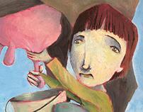 Acrylic illustration